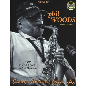PHIL WOODS PLAY-A-LONG VOLUME 121