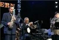 2000 Bern Jazz Festival with Clark Terry
